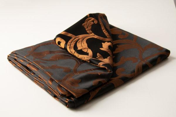 curtains 28291 1 4x2 7 chern bronz 1 600x400 - Штора 28291 черный с бронзой