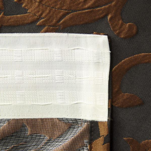 curtains 28291 1 4x2 7 chern bronz 3 600x600 - Штора 28291 черный с бронзой